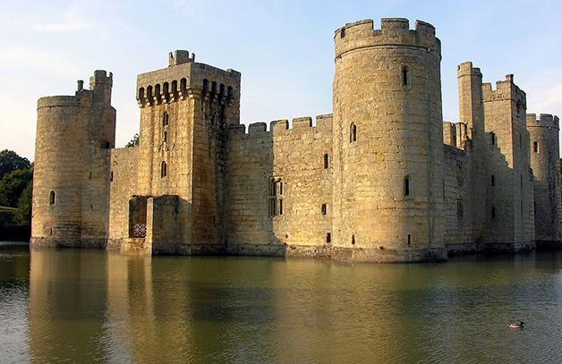Castelo Bodiam em East Sussex, Inglaterra2