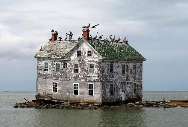 Ilha Holanda na Baía de Chesapeake2