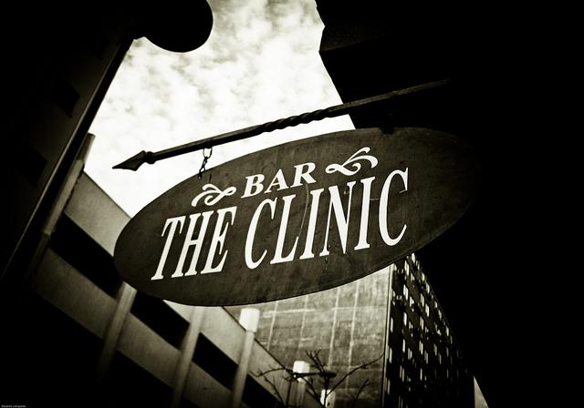 The Clinic bar