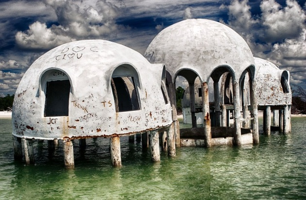 03 Abandoned dome houses in Southwest Florida