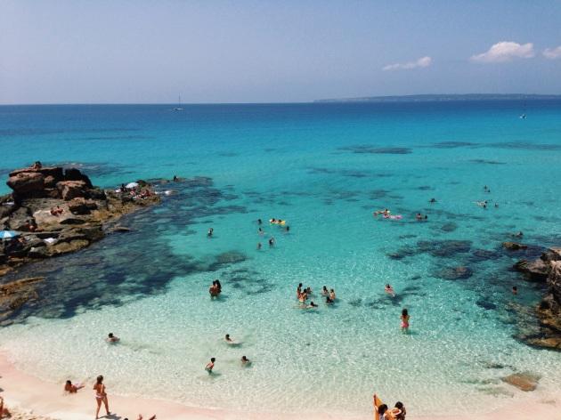 Playa de Ses Illetes, Espanha, RG Local
