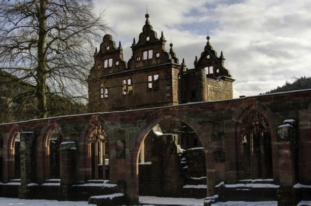 07 15th century monastery in the Black Forest in Germany