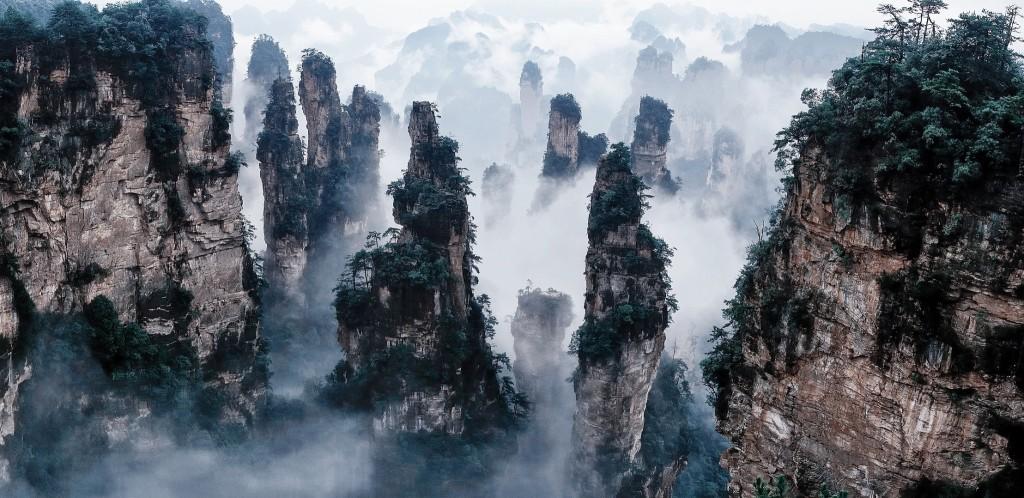 09 Monte Tianzi, China