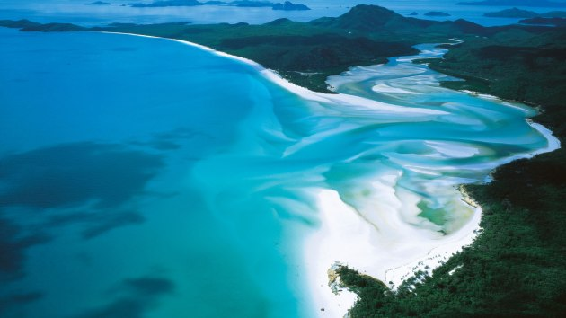 Whitehaven Beach, Austrália, RG Local