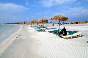 Elafonisi Beach, Grécia