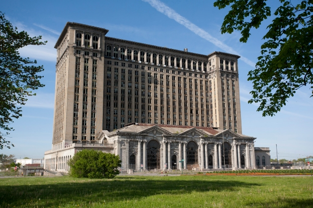 10 Michigan Central Station in Detroit