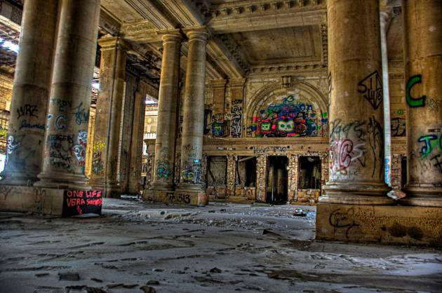 10 Michigan Central Station in Detroit2