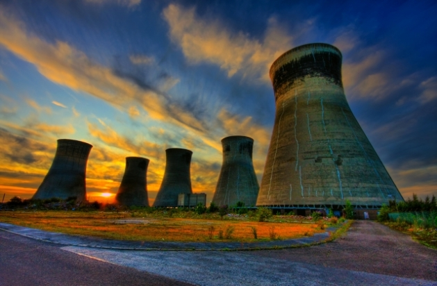 12 Cooling tower of an abandoned power plant2