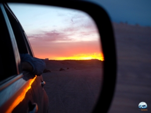 Despedida ao pôr do sol do Valle de la Luna, RG Local