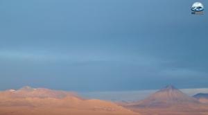 Vulcão Licancabur, visto do Valle de la Luna pelo RG Local.