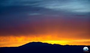 RG Local no pôr do sol no Valle de la Luna