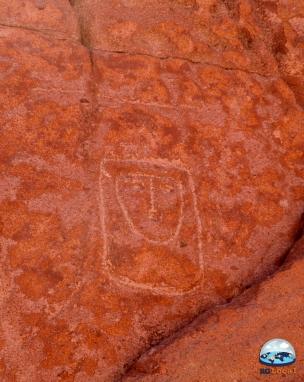 RG Local nos Petroglifos de San Pedro de Atacama