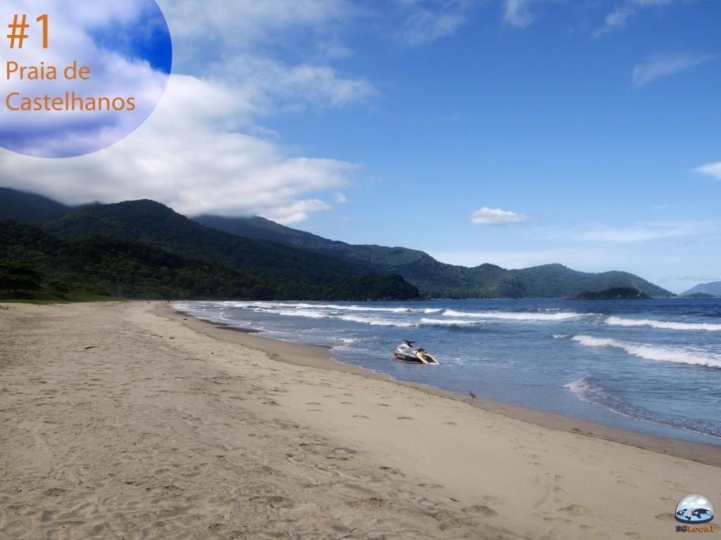 Praia de Castelhanos, Ilhabela - RG Local