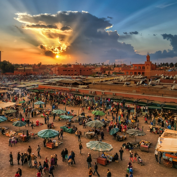 Marrakech, Marrocos - RG Local